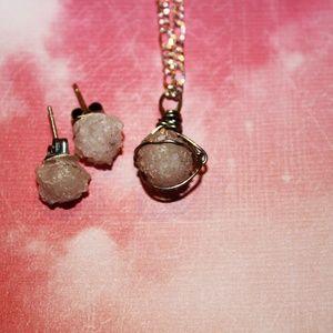 Quartz Jewelry Set